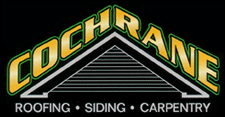 Cochrane roofing and siding logo